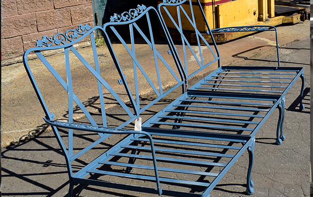 Metal Frame Refinishing