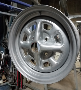 Powder Coated Silver Rim