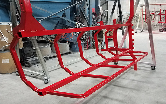 Commercial Powder Coating